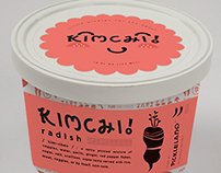 Kimchi! Packaging and Typeface