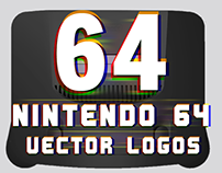 64 Nintendo 64 Logos Fully Remastered