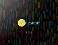 FUSION - Bar and Lounge [Menu]