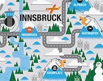 Telegraph: Ski Maps