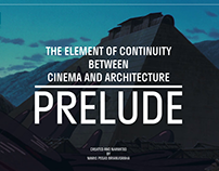 THE ELEMENT OF CONTINUITY - CINEMA & ARCHITECTURE