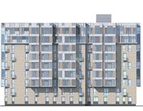 residential complex in Zarechie 2011