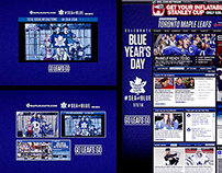 Toronto Maple Leafs #SEAofBLUE Winter Classic Campaign