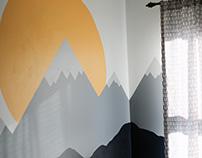 Boy's Room Mural