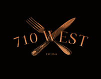 710 west restaurant logo