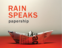 Rain Speaks - Papership Music + Album Design