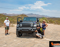 Gobi Happy Crew out at Table Mesa West 6-26-21