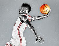Ohio State Men's Basketball Poster