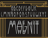 """""""Magnit"""" typeface"""