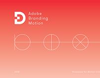 Adobe Experience Design Branding Motion
