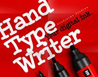 XXII HandTypeWriter - Font Family
