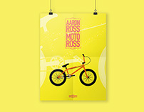 Aaron Ross BMX Poster