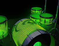 Concept LED Drums