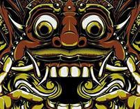 Balinese Mask | Ok Gang