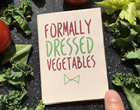 Formally Dressed Vegetables