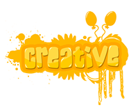 """"""" Creative """" Typography style"""