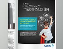 Campaña ahorro para la educación SURA