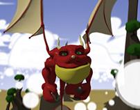 Creature animation | Cartoony Dragon