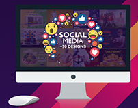 +50 designs for social media