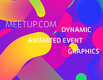 Meetup.com - Dynamic Animated Event Graphics