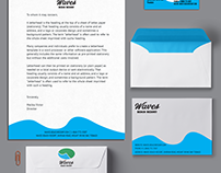 Waves Beach Resort Business Collateral