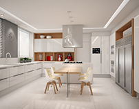 Kitchen for Queen Victoria Project in Curitiba, Brazil