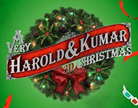 A Very Harold & Kumar 3D Christmas | Main Title, Mktg.