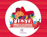 """La Rosa """" Cultura Mexicana Creativa"""""""