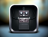 Boss Pedal icon