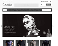 Catalog - eCommerce WordPress Theme UI/UX