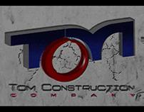 Tom construction animated logo