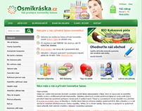 Osmikraska.cz - Shop with czech natural cosmetics