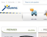 Touring / Online rebranding