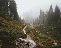 Hiking around Mount Rainier NP, Washington