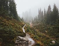 Hiking around Mount Rainier NP, Washington