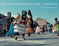 Bolivian Carnival in Rome - Portraits