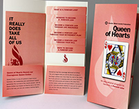 Queen of Hearts Pocket Folder and Inserts
