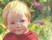 Portrait of Harrison Hughes
