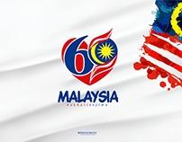 KEMERDEKAAN MALAYSIA 60 (LOGO Concept)