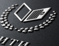 Logo & landing page «GEITI». Internet Institute