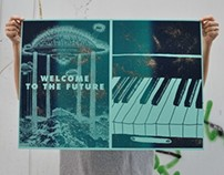 Look Out For More / Silkscreen Posters