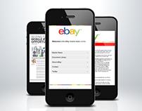 Mobile Web Design for Ebay UK