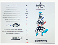 Final book cover design for A Brief History of Time