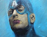Captain America is gay - 2012 © 2Neko