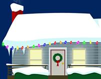 Holiday dash (xmas video game)