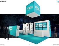 MOG booth at NAB 2017