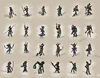 Character design | Thumbnails