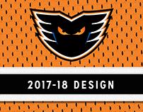 Lehigh Valley Phantoms 2017-18 Branding