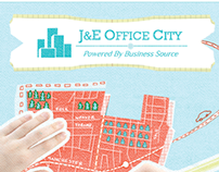 J&E Office City - Flyer Design