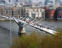 Miniature London - Tilt-Shift Photography